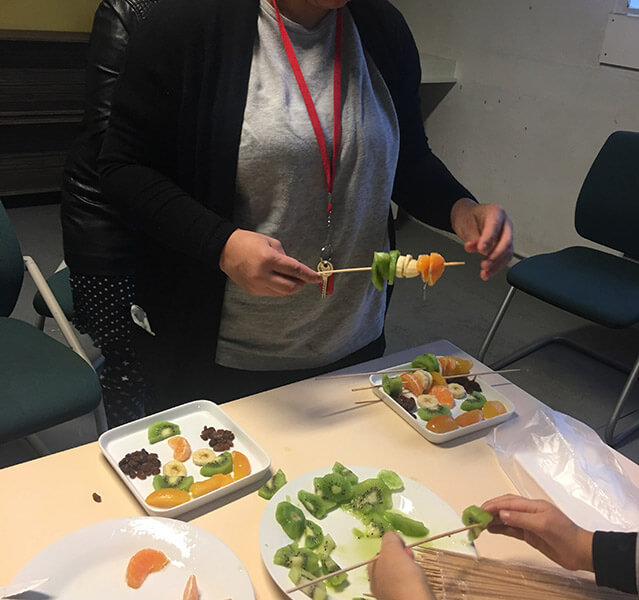 atelier éducation nutritionnelle #1